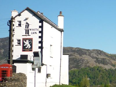 The Whie Lion Pub in Patterdale