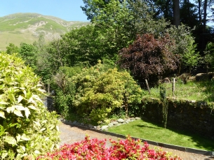 Front Garden of The How Cottage in Patterdale